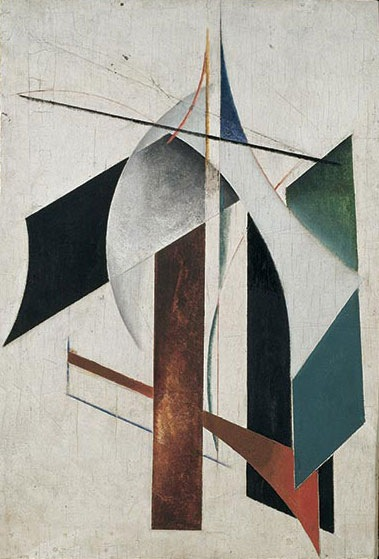 Α.Ροντσένκο, Μη-Αντικειμενικός Πίνακας 1917